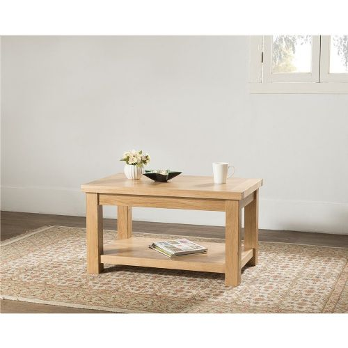 Valencia Standard Coffee table with shelf